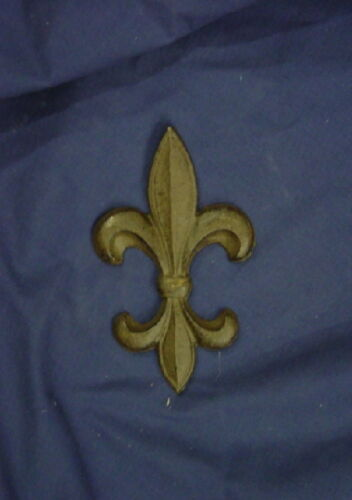 FDL Fleur De Lis Concrete Cement Plaster Applique Plaque Mold 7160 Moldcreations