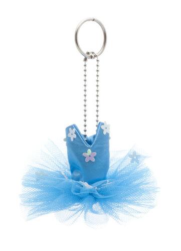 Ballet Dance Tutu Keyring Keychain Gift Christmas Katz Dancewear Various Colours