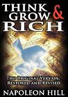 Think and Grow Rich! : The Original Version by Napoleon Hill (2007, Hardcover)