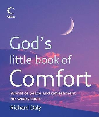 """""""AS NEW"""" God's Little Book of Comfort, Daly, Richard, Book"""