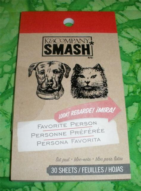 SMASH BOOK ACCESSORY - PAD - 2 OF US FAVORITE PERSON  - Journaling, Scrapbooking