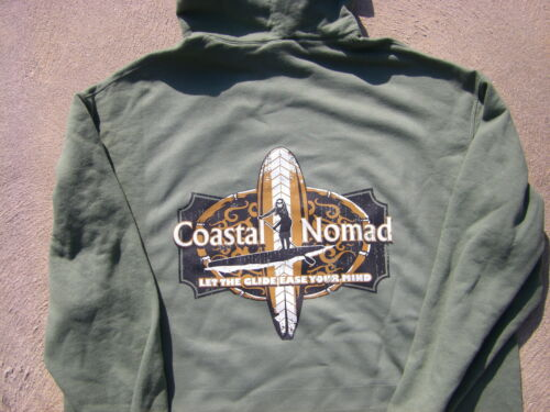 Coastal Nomad Hoodie SUP Stand up paddle board ocean wander on water Glide