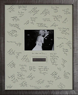 Personalised Guest Signing Frame -  Aternative Wedding Guest Book