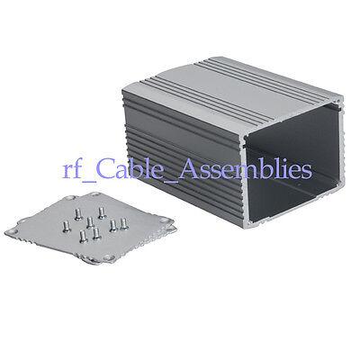 2x Aluminum Project Box Enclosure Case Electronic Heavy gauge DIY - 55*75*100mm