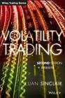 Volatility Trading: + Website by Euan Sinclair (Hardback, 2013)
