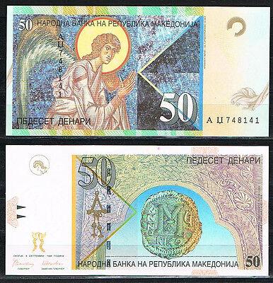 MACEDONIA 50 DINARA 1996 Pick # 15   S/C  UNC