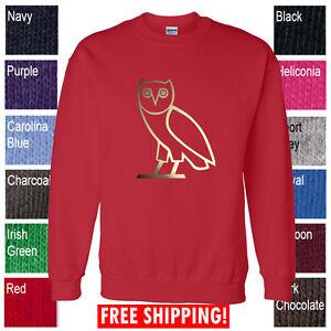OVO Drake October's very own CREWNECK sweatshirt OVOxo GOLD ...