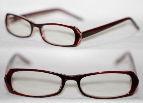 Style Nerd Lunettes super étroit plat noir brun rouge bleu femmes u homme 803