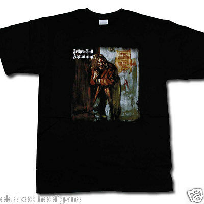 Jethro Tull T Shirt - Aqualung 100% Official Ian Anderson Classic Prog T-Shirt