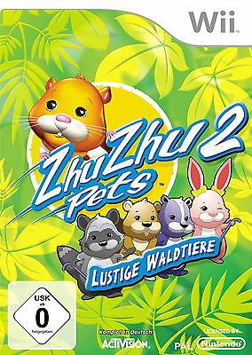 Zhu Zhu Pets: Lustige Waldtiere (Nintendo Wii, DVD-Box)