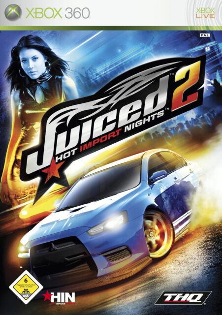 Juiced 2: Hot Import Nights (Xbox 360, Spiel in deutsch, Anleitung) B63