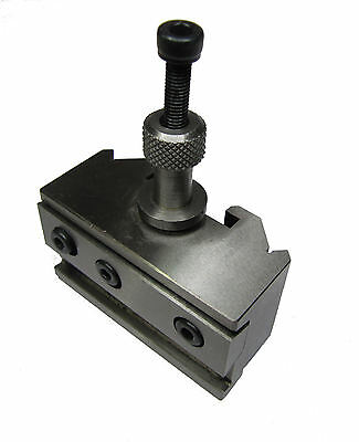RDGTOOLS QUICK CHANGE PARTING TOOL HOLDER FITS MYFORD QUICKCHANGE DICKSON