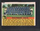 1956 Topps Baltimore Colts #48 Football Card