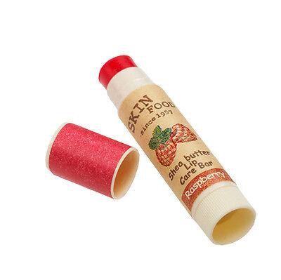[SKINFOOD] Shea Butter Lip Care Bar #1 Raspberry 3.5g - Free Shipping -