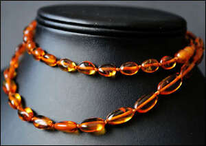 BALTIC AMBER Necklace 54cm, 21.2.