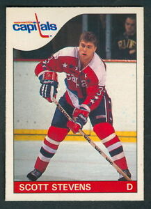 1985-86-OPC-O-PEE-CHEE-62-SCOTT-STEVENS-NM-N-J-DEVIALS-WASHINGTON-CAPITALS