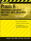 CliffsNotes Praxis II: Elementary Education (0011/5011, 0012, 0014/5014) with CD-ROM by Judy L. Paris, Jocelyn L. Paris (Mixed media product, 2012)