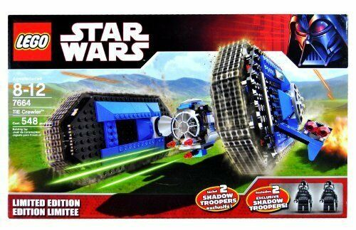 Lego Star Wars Episode IV-VI Tie Crawler Limited Ed. 2007   (7664)