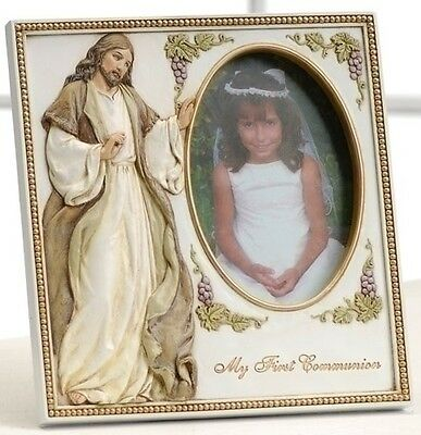 My First Holy Communion Jesus Frame For 35 X 5 Photo Ebay
