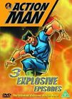 Action Man - Three Explosive Episodes - (Animated) (DVD, 2003)