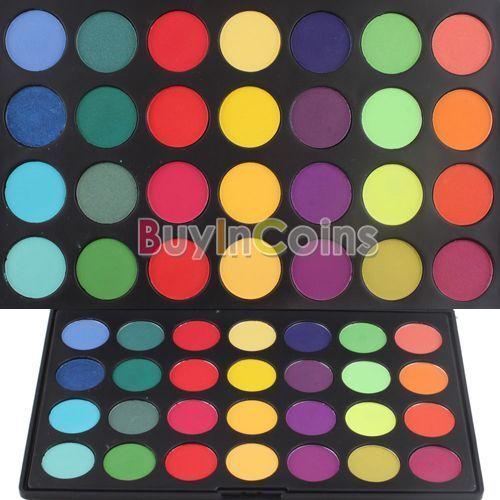 Pro 28 Colors Eyeshadow Eye Shadow Palette  Makeup Kit Set