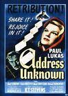 Address Unknown (DVD, 2010)