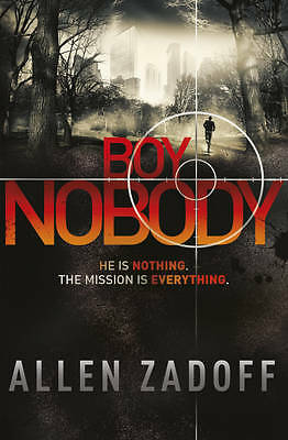 """AS NEW"" Boy Nobody, Zadoff, Allen, Book"