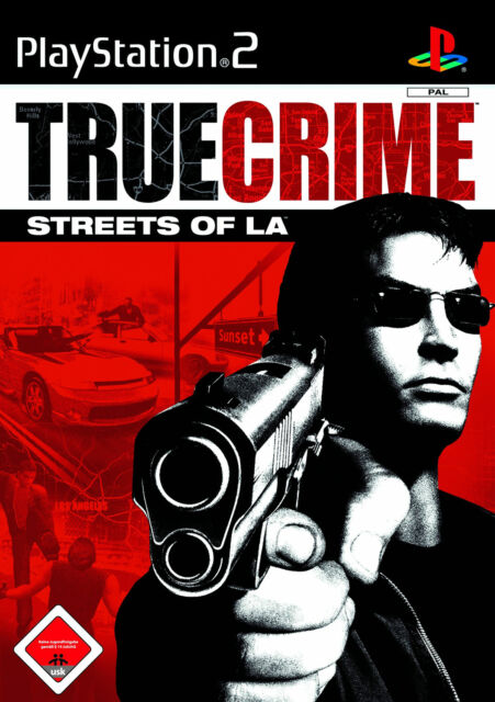 True Crime: Streets Of L.A. PS2 Playstation 2 USK 18
