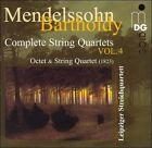 Felix Mendelssohn - Mendelssohn-Bartholdy: Octet; String Quartet (1823, 2004)