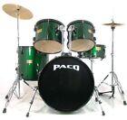 Paco 5-Piece drum set in Green