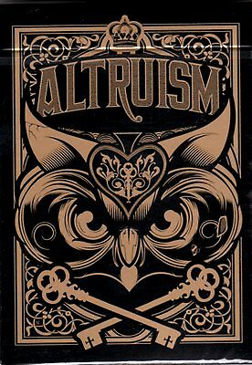Altruism v1 Playing Cards by Blue Crown / 1 New deck / Theory11 Ellusionist HOPC