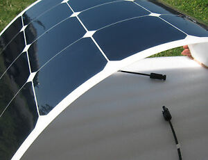 Semi-Flexible-120-Watt-Solar-Panel-High-Efficiency-Sunpower-Marine-Rated