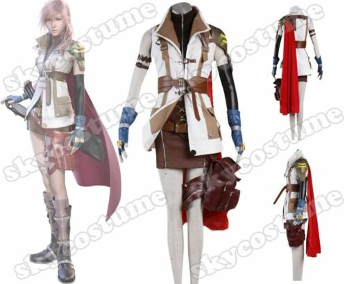 Final Fantasy FF XIII 13 Lightning Kostüme Uniform Cosplay [DE]
