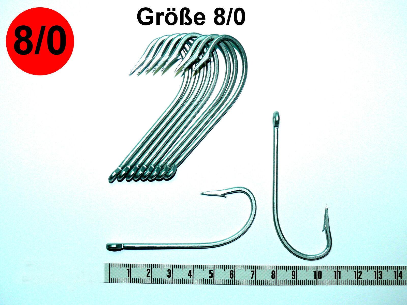Vmc perma avec steel crochet avec perma öhr, 9255ps, inoxydable, ver. taille, en pleine mer, poisson lambeaux 6a2f33