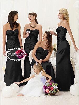 Cadbury purple satin evening wedding bridesmaid dress SZ 8-22 lace up back