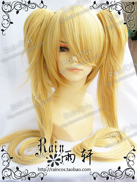 Long Tsukiyomi Utau Japanese Shugo Chara Cosplay party full wig
