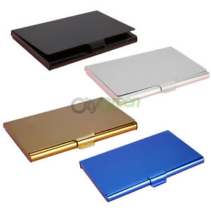 Business-Name-Credit-ID-Card-Case-Holder-Wallet-Pocket-Photos-Many-Colours