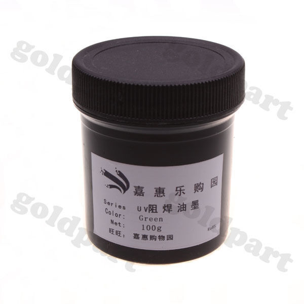 PCB UV Curable Solder Mask Repairing Paint Green 100g