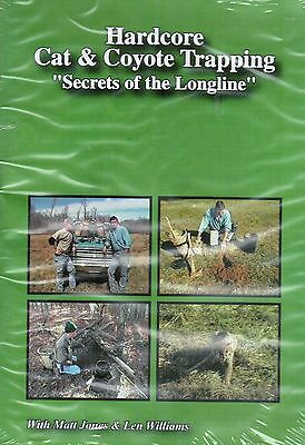 DVD, Matt Jones Hardcore Cat and Coyote Trapping, traps, trap