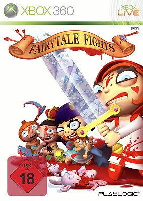 Fairytale Fights (Microsoft Xbox 360, 2009, DVD-Box)