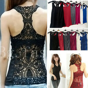 Women-039-s-Sexy-Back-Crochet-Lace-Tank-Top-Sleeveless-T-shirt-Hollow-out-Cami-Vest