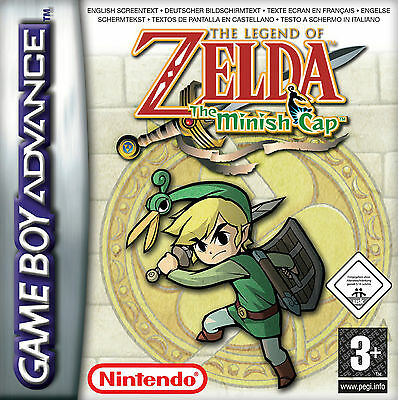 The Legend Of Zelda: The Minish Cap (Nintendo Game Boy Advance, 2004)