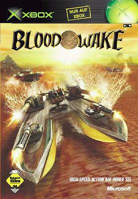 Blood Wake (Microsoft Xbox, 2002, DVD-Box)
