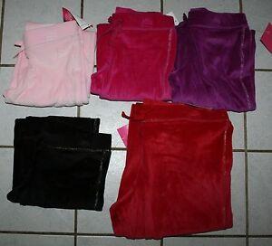 NEW-Girls-DANSKIN-NOW-Velour-Pants-Various-Colors-amp-Sizes