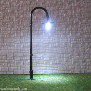 20-pcs-OO-or-HO-scale-Model-Lamppost-LED-Lamp-Cold-Street-Light-Long-life-005