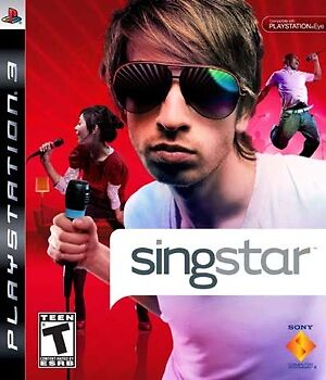 SingStar (Sony PlayStation 3, 2008) -Complete -Ps3