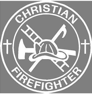 Firefighter religious tattoos