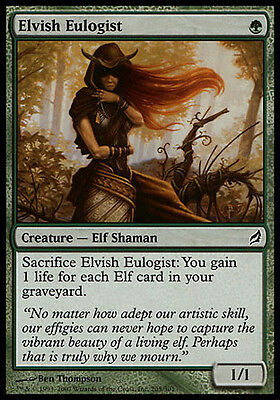 4x Elvish Eulogist Lorwyn MtG Magic Green Common 4 x4 Card Cards