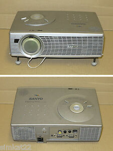 sanyo pro x multiverse lcd projector plc sw36 spares or repair ebay. Black Bedroom Furniture Sets. Home Design Ideas