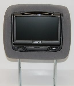 toyota tundra dual dvd headrest video players monitors for. Black Bedroom Furniture Sets. Home Design Ideas